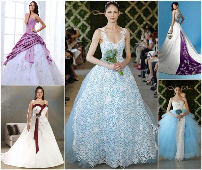 Вставки на свадебное платье